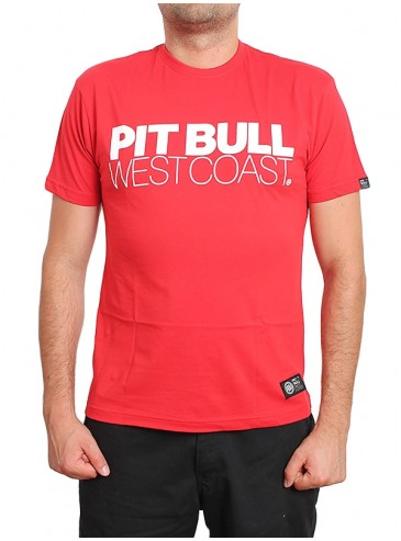 Pitbull West Coast T-shirt TNT Red