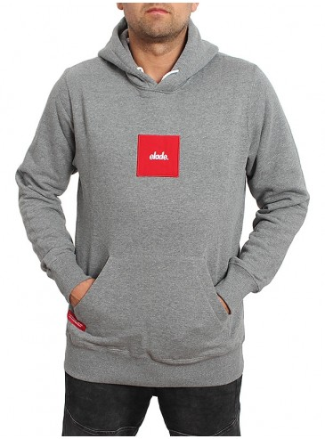 Elade Hoody Square Grey